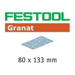 Abrasifs Granat STF 80x133 P220 GR/100 497123