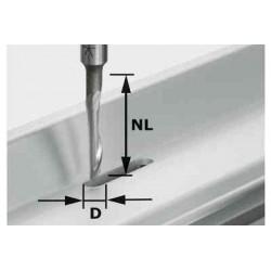 Fraise aluminium HS S8 D5/NL23 491036