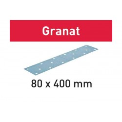 Abrasifs STF 80x400 P120 GR/50 Granat 497160