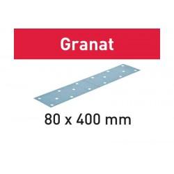 Abrasifs STF 80x400 P180 GR/50 Granat  497162
