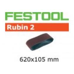 Bande abrasive L620X105-P120 RU2/10 499153